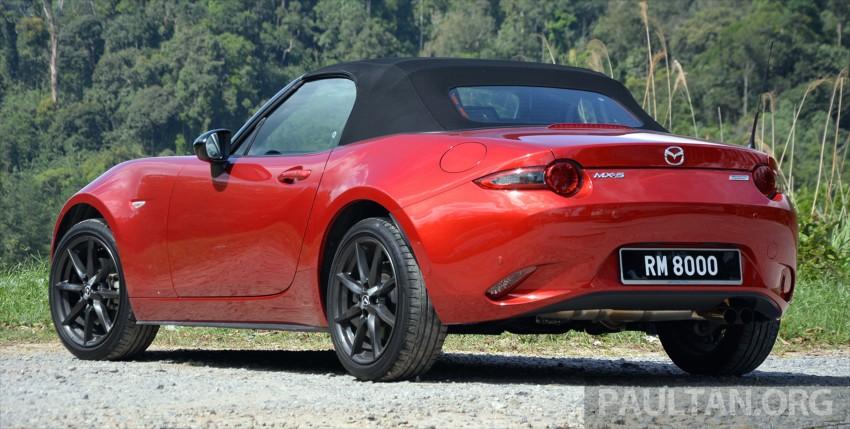 DRIVEN: Mazda MX-5 ND 2.0 – heightened sensations Image #438368