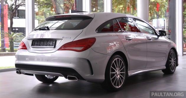 Mercedes-Benz CLA 250 Shooting Brake Malaysia  011
