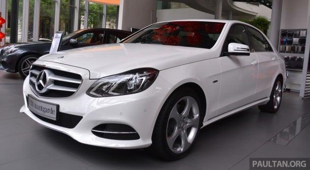 Mercedes-Benz E200 Edition E Malaysia  056