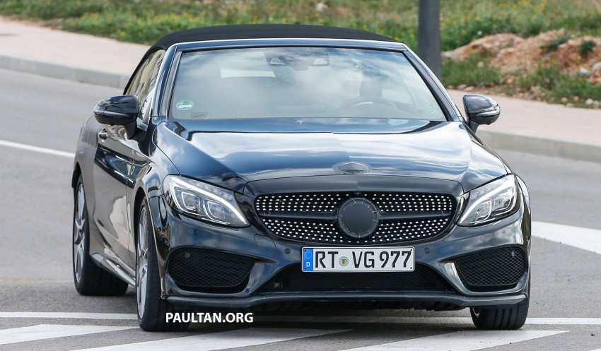 SPIED: Mercedes-AMG C43 and C63 Cabriolet testing Image #439365