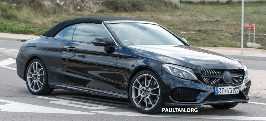SPIED: Mercedes-AMG C43 and C63 Cabriolet testing Image #439367