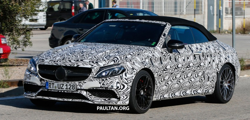 SPIED: Mercedes-AMG C43 and C63 Cabriolet testing Image #439376