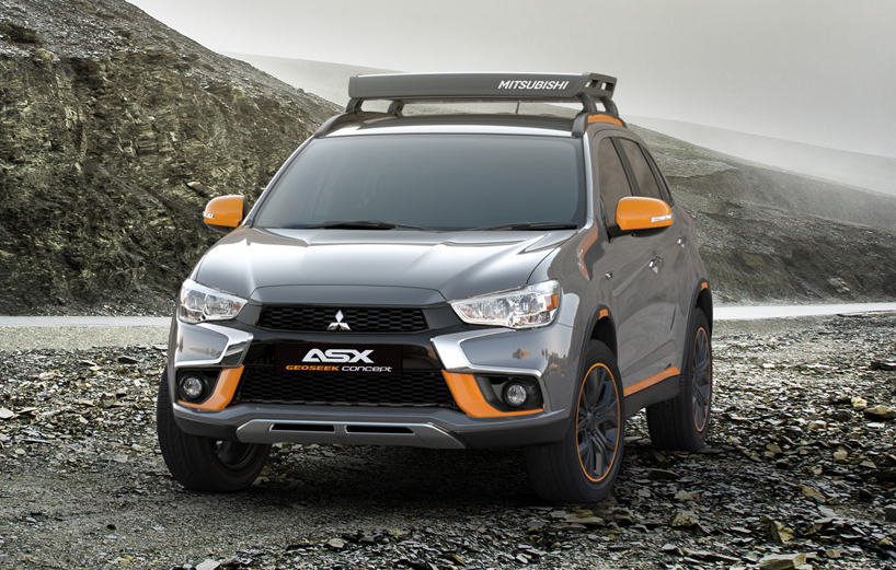 Mitsubishi Triton, ASX Geoseek concepts for Geneva Image ...