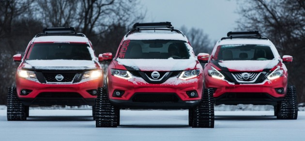 Nissan Winter Warrior concepts revealed for Chicago