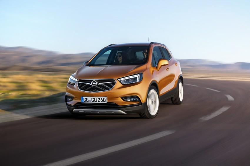 Opel/Vauxhall Mokka X – B-segment SUV gets facelift Image #438900