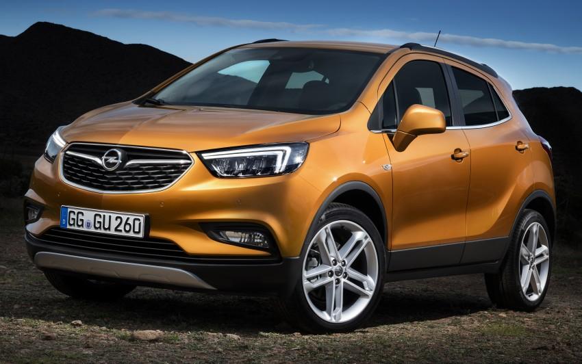 Opel/Vauxhall Mokka X – B-segment SUV gets facelift Image #438905