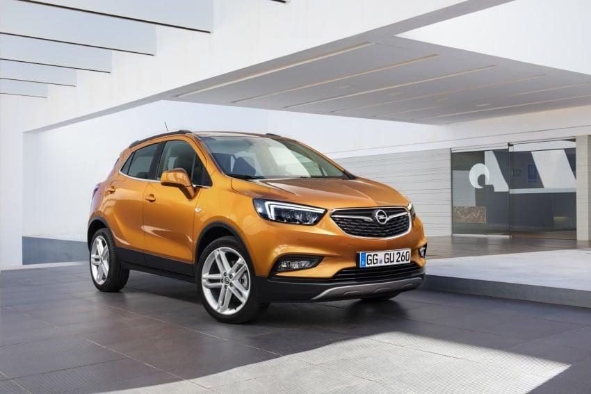 Opel/Vauxhall Mokka X – B-segment SUV gets facelift Image #438906