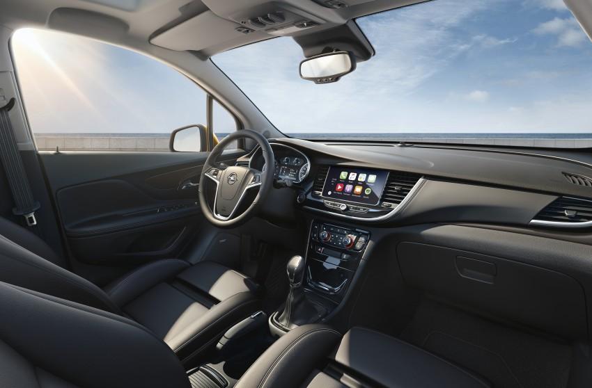 Opel/Vauxhall Mokka X – B-segment SUV gets facelift Image #438914