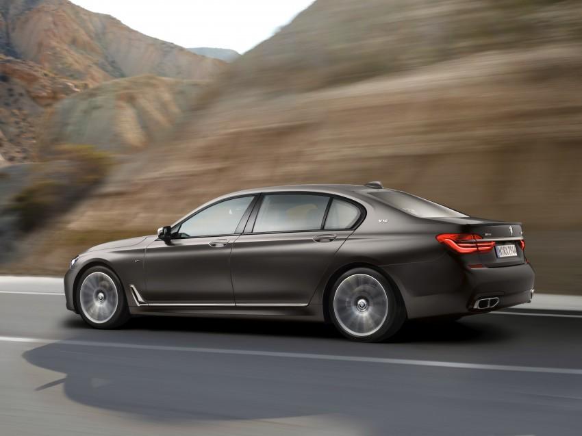BMW M760Li xDrive – 600 hp, 800 Nm twin-turbo V12! Image #440230
