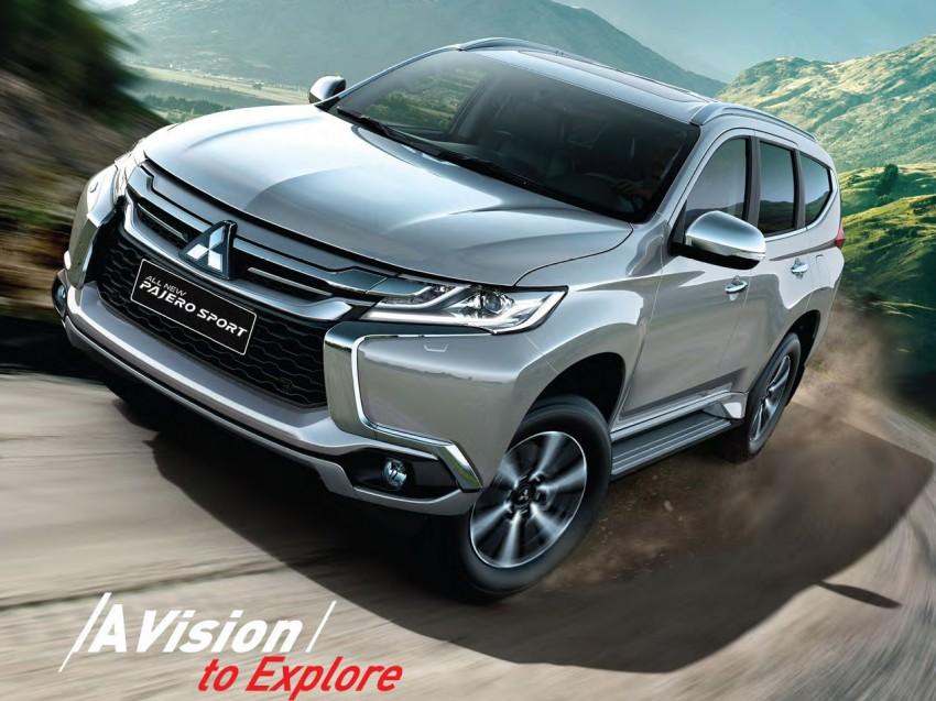 Mitsubishi Pajero Sport SUV baharu dilancarkan di Indonesia – enjin 2.4L baharu dan 2.5L lama Image #437038