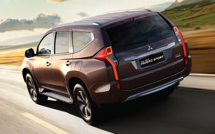 Mitsubishi Pajero Sport SUV baharu dilancarkan di Indonesia – enjin 2.4L baharu dan 2.5L lama Image #437051