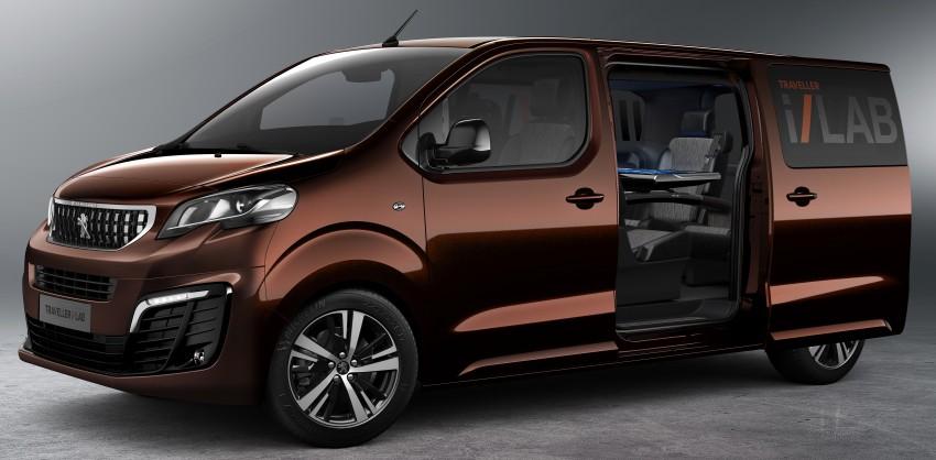 Peugeot Traveller i-Lab is a technology-filled VIP van Image #439927
