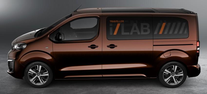 Peugeot Traveller i-Lab is a technology-filled VIP van Image #439928
