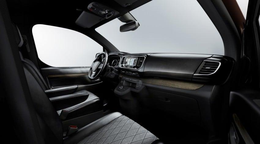 Peugeot Traveller i-Lab is a technology-filled VIP van Image #439942