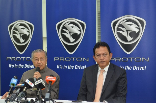 Press Conference with YABhg Tun Dr Mahathir Mohamad and Dato' Abdul Harith Abdullah