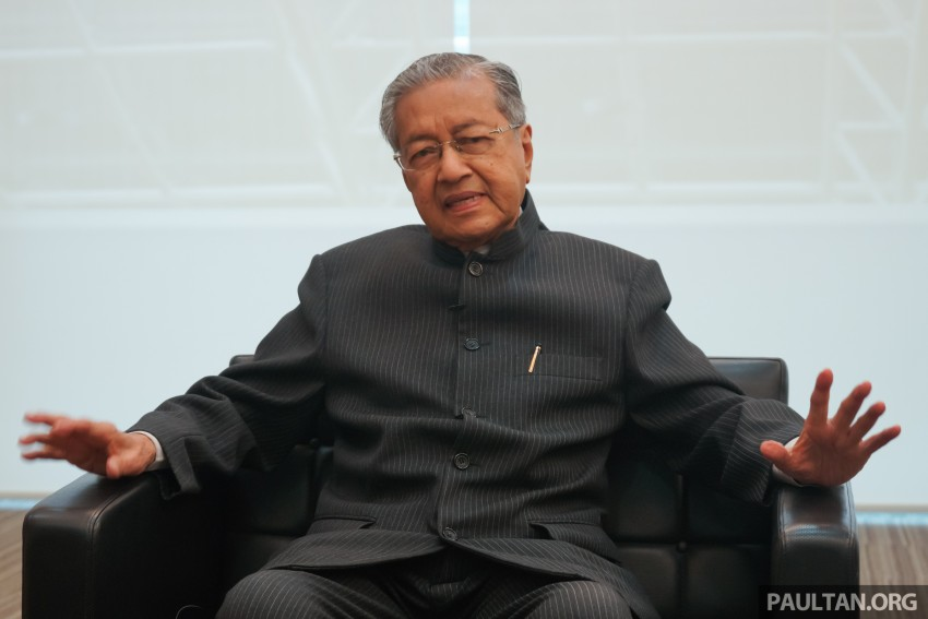 """""""Proton is not doing well, I don't want to give too many excuses, but there are many reasons"""" – Tun Mahathir Image #443866"""