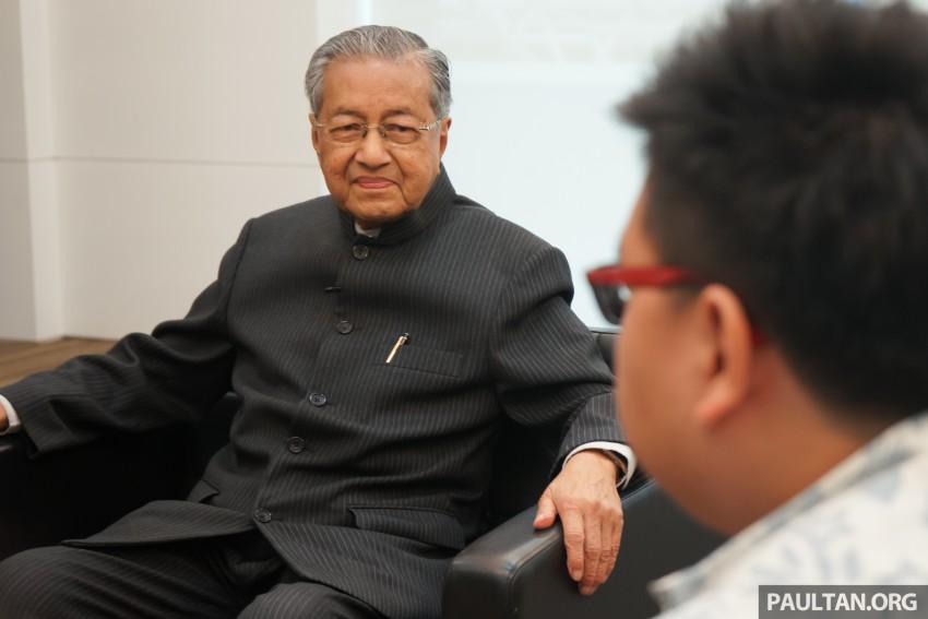 Proton needs to return to export market – Tun Mahathir Image #444191