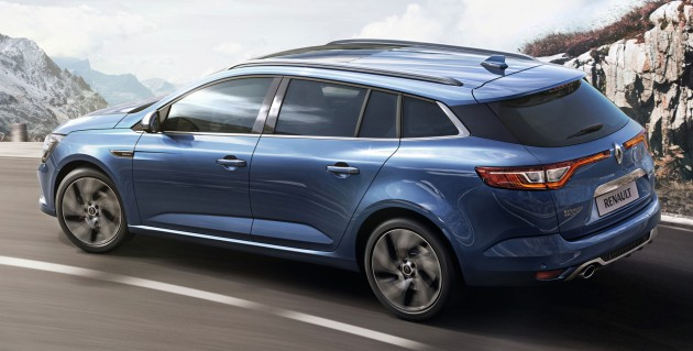 Renault Megane Estate pre-Geneva 2016 2