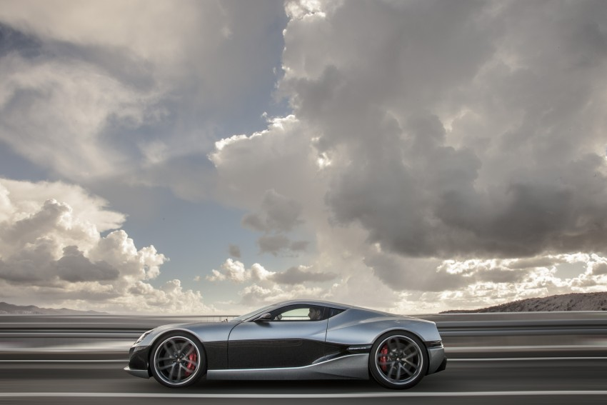 Rimac Concept_One, all-electric hypercar – 1,088 hp Image #446452