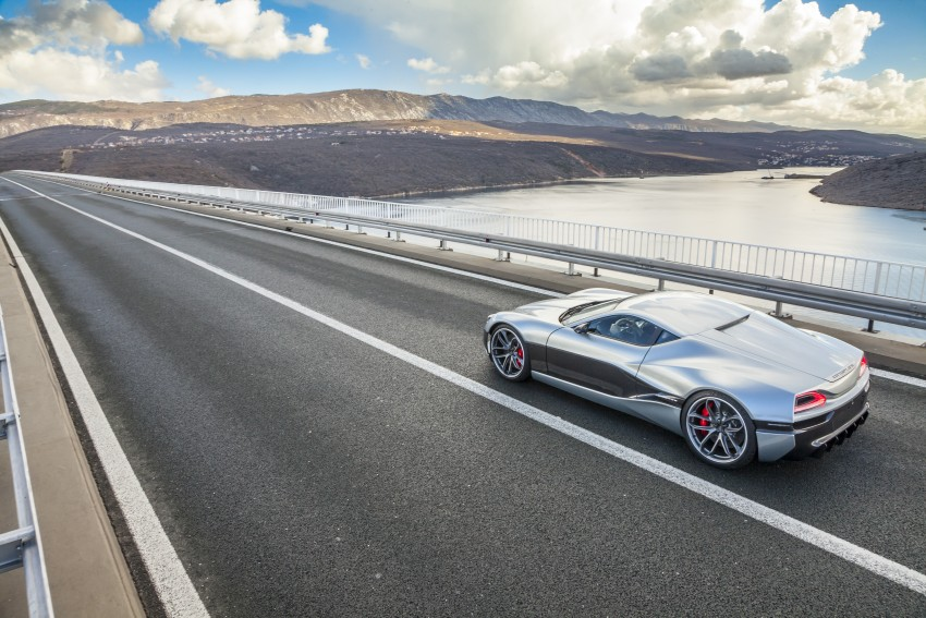 Rimac Concept_One, all-electric hypercar – 1,088 hp Image #446462