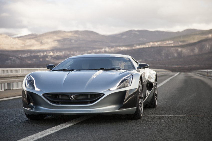Rimac Concept_One, all-electric hypercar – 1,088 hp Image #446463