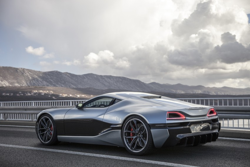Rimac Concept_One, all-electric hypercar – 1,088 hp Image #446464