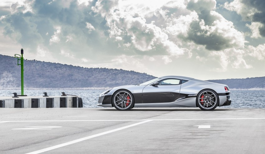 Rimac Concept_One, all-electric hypercar – 1,088 hp Image #446465