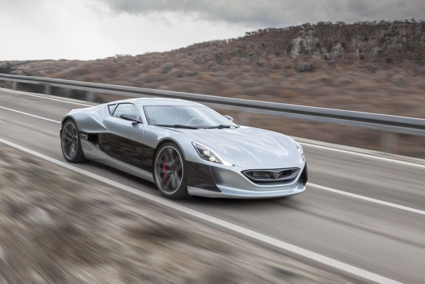 Rimac Concept_One, all-electric hypercar – 1,088 hp Image #446466