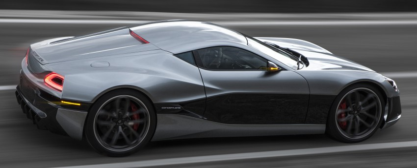 Rimac Concept_One, all-electric hypercar – 1,088 hp Image #446446