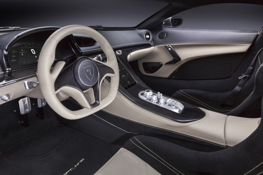 Rimac Concept_One, all-electric hypercar – 1,088 hp Image #446449