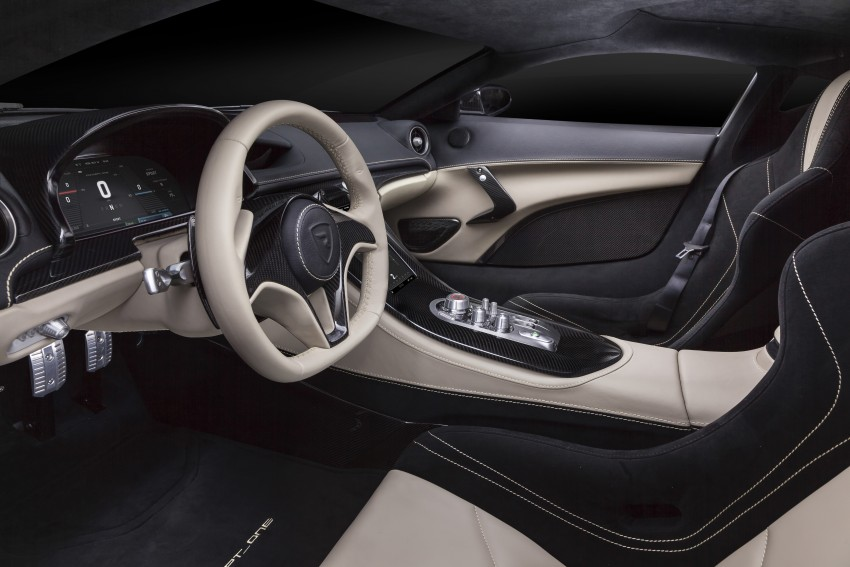 Rimac Concept_One, all-electric hypercar – 1,088 hp Image #446470