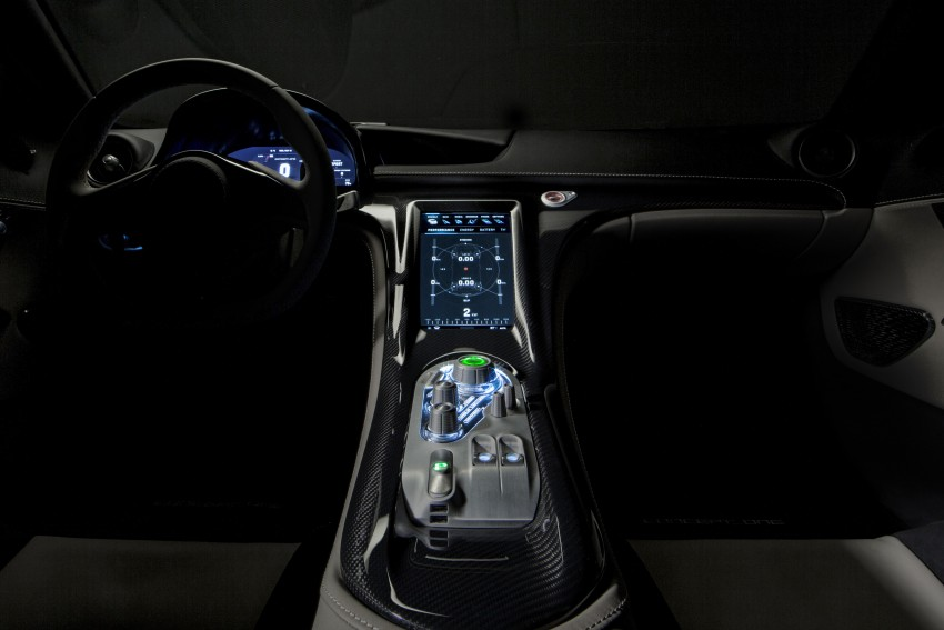 Rimac Concept_One, all-electric hypercar – 1,088 hp Image #446472