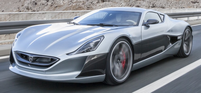 Rimac Concept_One, all-electric hypercar – 1,088 hp Image #446445