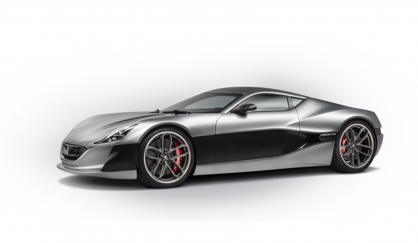 Rimac Concept_One, all-electric hypercar – 1,088 hp Image #446481