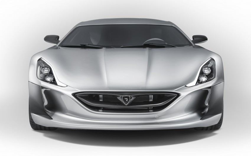 Rimac Concept_One, all-electric hypercar – 1,088 hp Image #446488