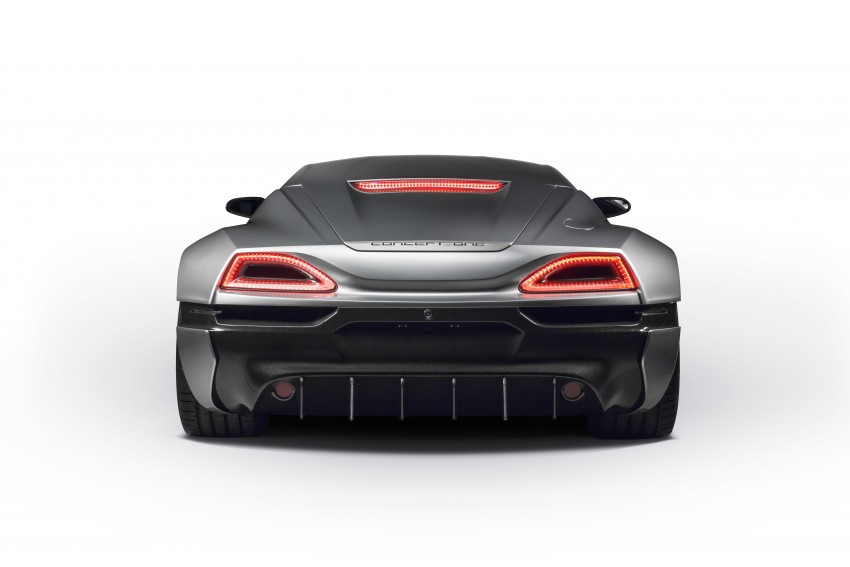 Rimac Concept_One, all-electric hypercar – 1,088 hp Image #446483