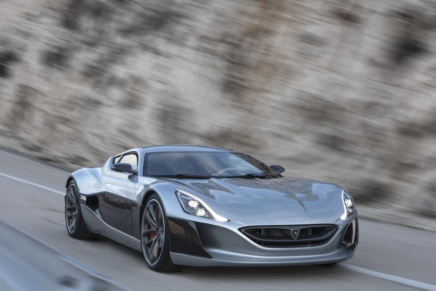 Rimac Concept_One, all-electric hypercar – 1,088 hp Image #446485