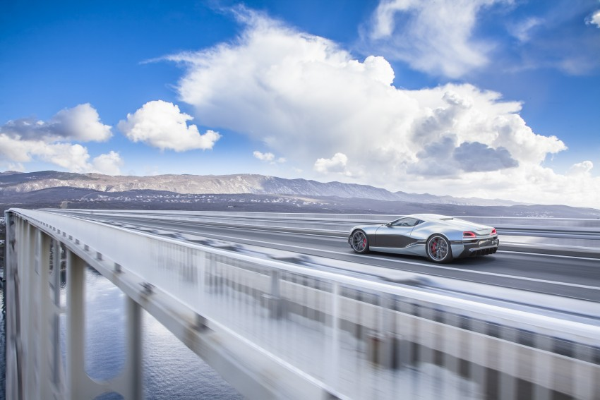 Rimac Concept_One, all-electric hypercar – 1,088 hp Image #446487