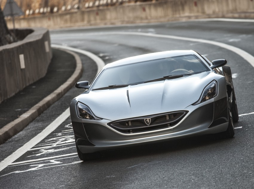 Rimac Concept_One, all-electric hypercar – 1,088 hp Image #446453