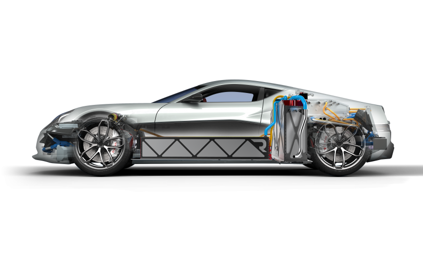 Rimac Concept_One, all-electric hypercar – 1,088 hp Image #446455