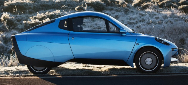 Riversimple Rasa hydrogen fuel cell car 3
