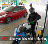 Safety at fuel stations