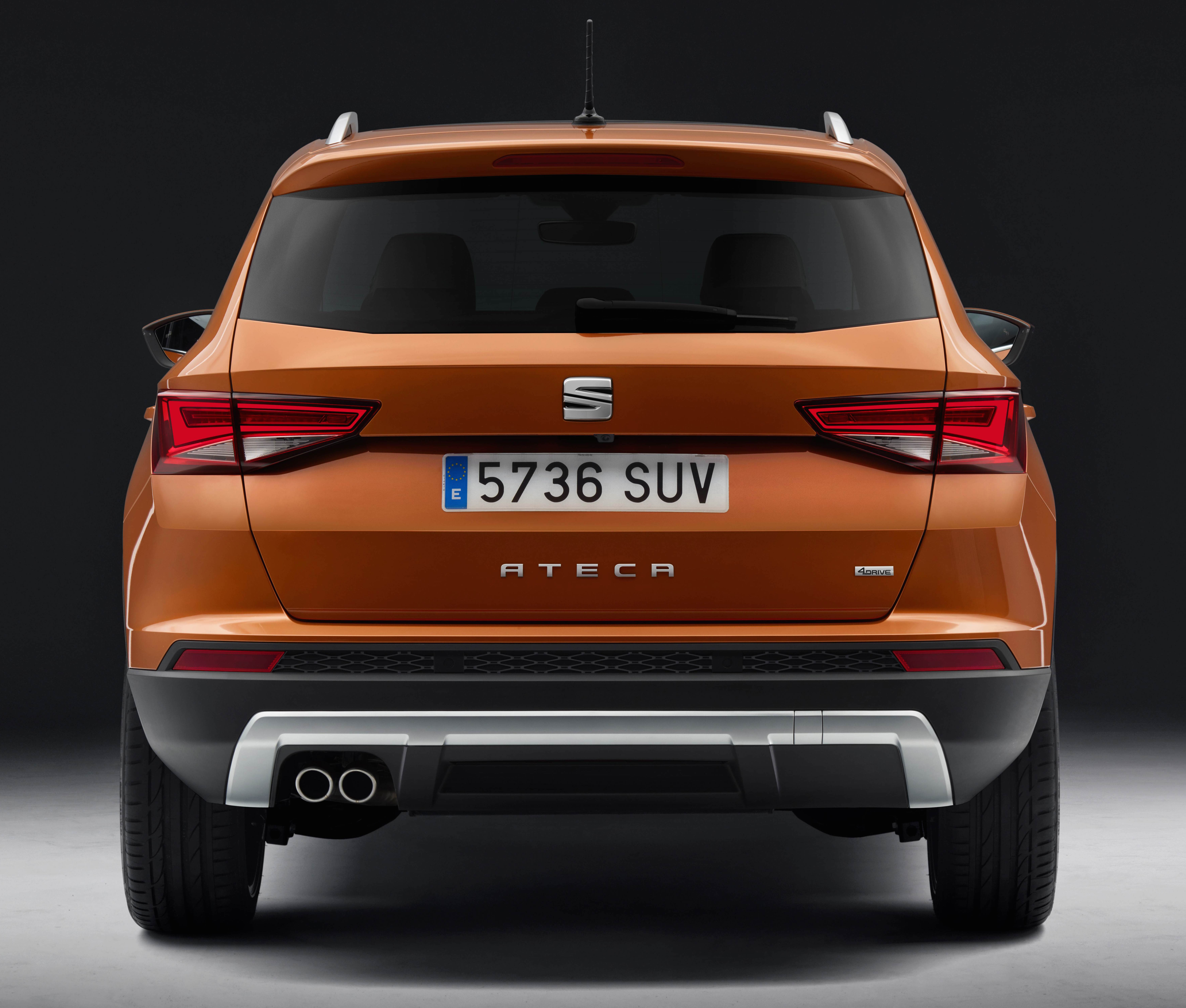 seat ateca unveiled brand s first ever suv model image 439651. Black Bedroom Furniture Sets. Home Design Ideas