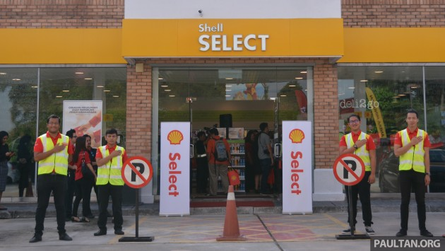 Shell Select retail store -1