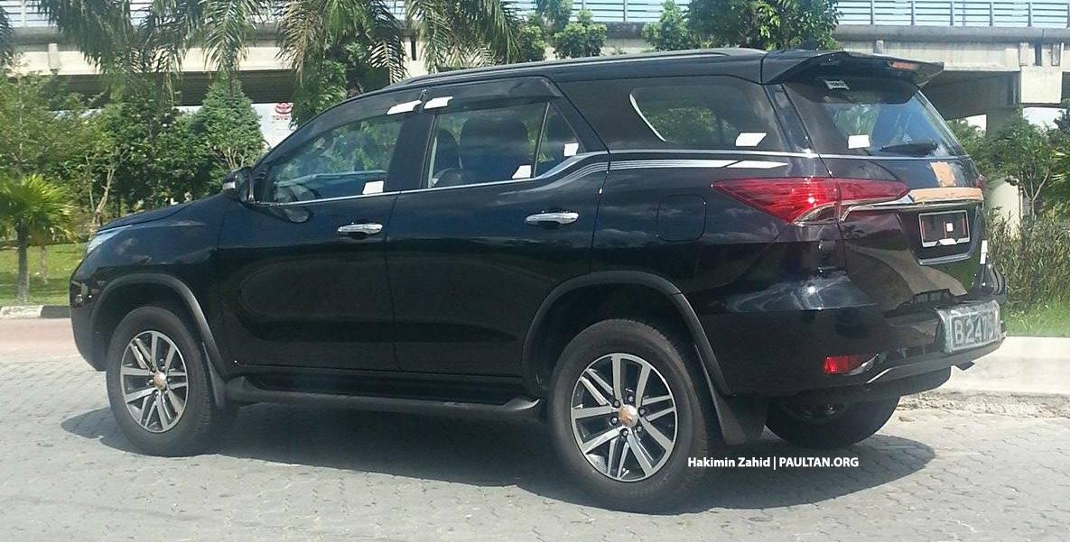 Spyshot Toyota Fortuner Kelihatan Di Shah Alam Paul Tan Image 440989