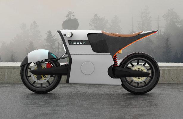 Proposed Tesla e-Bike design concept by Serrano Image #448771