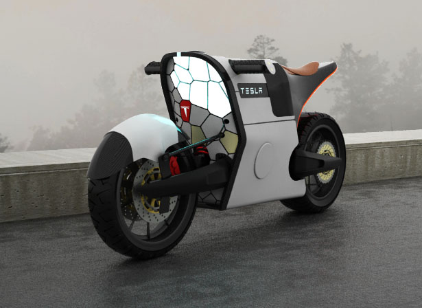 Proposed Tesla e-Bike design concept by Serrano Image #448772