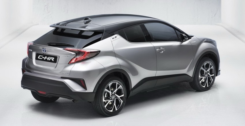 Toyota C-HR in production form leaked ahead of debut Image #449922