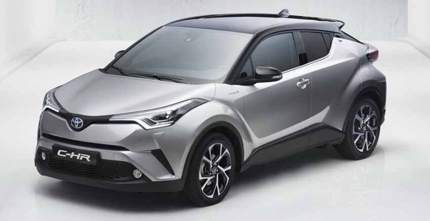Toyota C-HR in production form leaked ahead of debut Image #449923