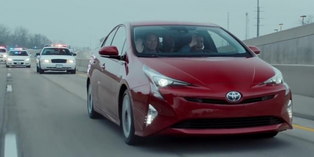 Toyota Prius police chase ad
